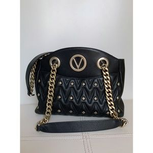 Mario Valentino Camelie D Sauvage Shoulder Bag